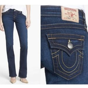 True Religion Becky Bootcut Denim Jeans 27